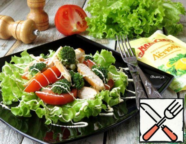 Chicken Salad with Broccoli Recipe