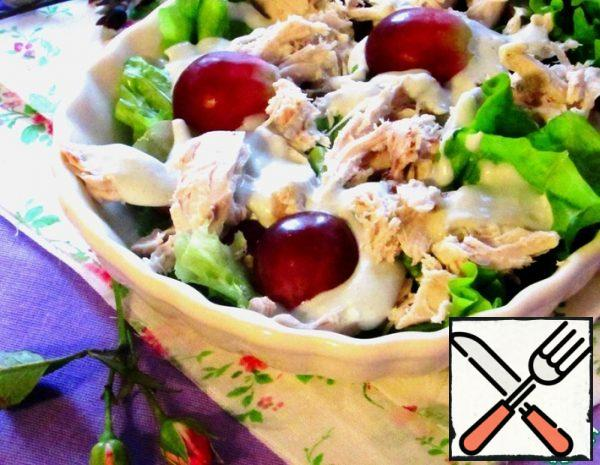 Salad with Chicken and Grapes Recipe