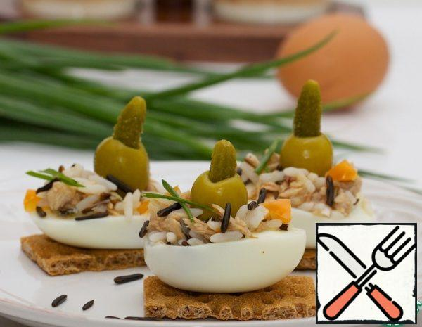 Rice and Egg Appetizer Recipe