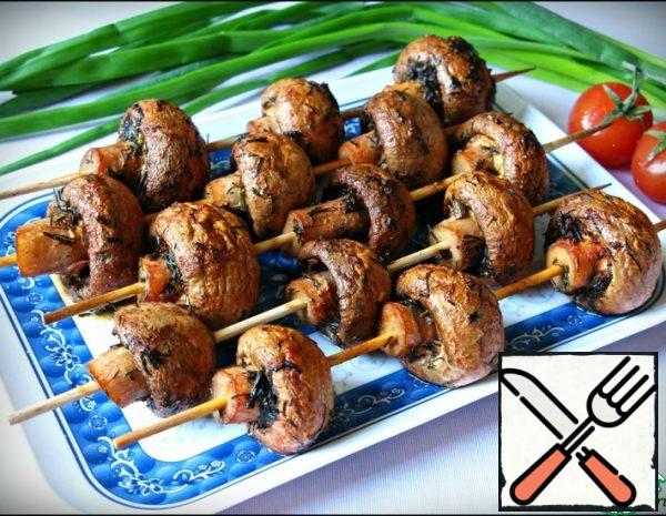 Shish Kebab of Mushrooms Recipe