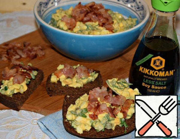 Warm Egg Salad Recipe