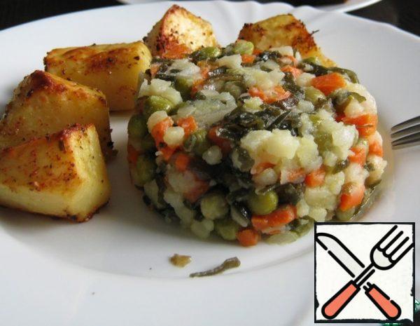 Salad with Seaweed Recipe