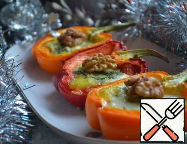 Pepper baked with Cheese Recipe