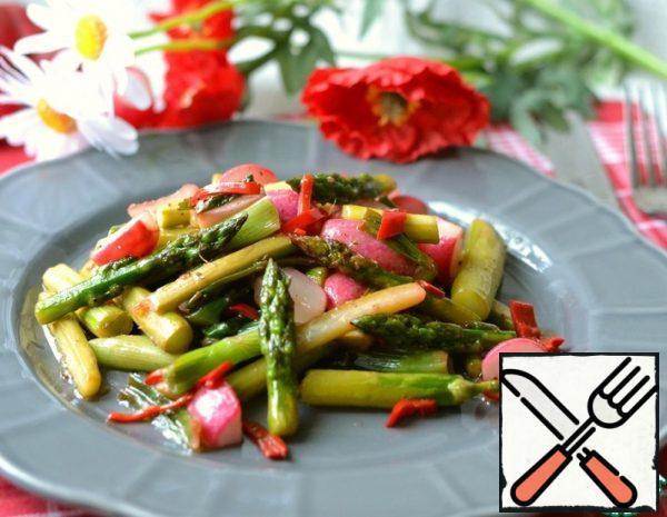 Warm Salad with Asparagus Recipe