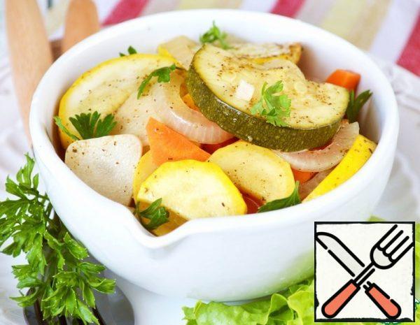 Crispy pickled Zucchini Recipe
