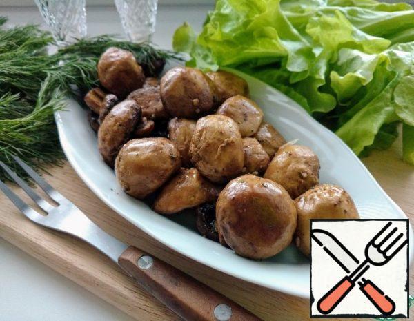 Mushroom Snack Recipe