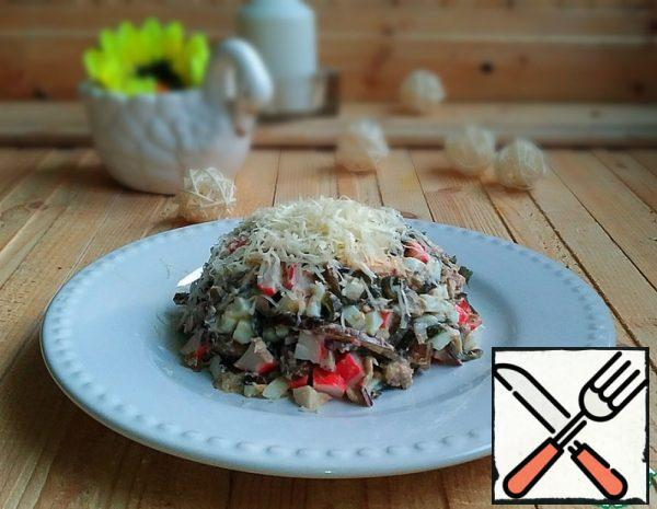 Salad with Seaweed and Fish Recipe