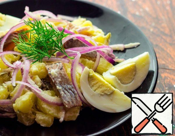 Salad with Herring Recipe