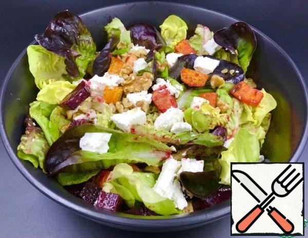 Salad of baked Vegetables Recipe