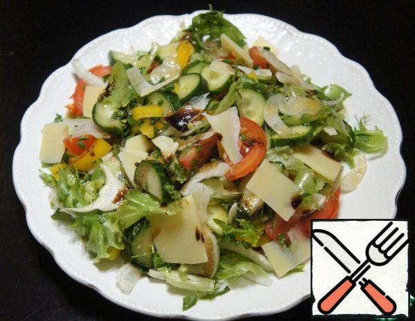 Vegetable Salad with Fennel Recipe
