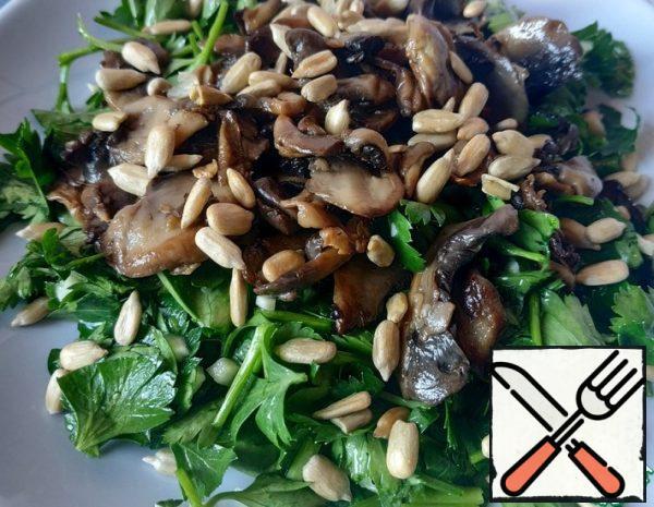 Salad with Mushrooms Recipe
