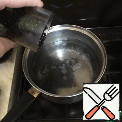 Wash the rice thoroughly, add it to boiling water and cook until tender.