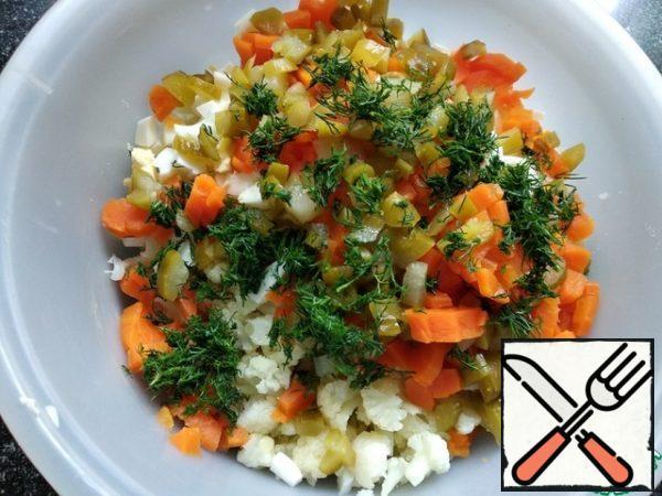 Combine all the ingredients. Add salt.
