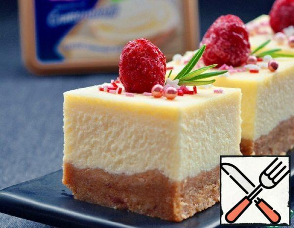 Cheesecake with Melted Cheese Recipe