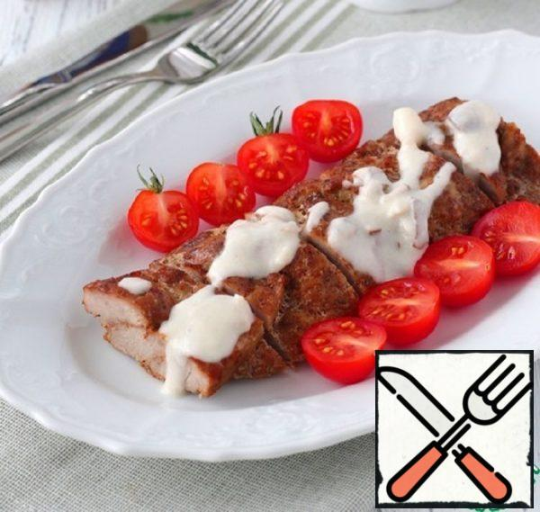 """Appetizer """"Meat Pigtail"""" with Cheese Sauce Recipe"""