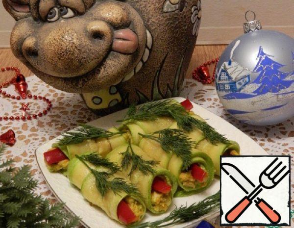 Zucchini Appetizer with Avocado Recipe