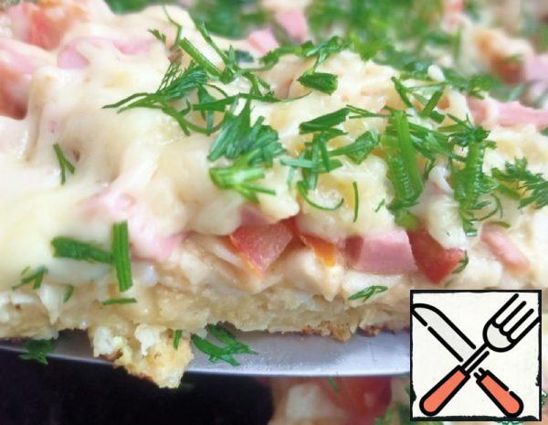 """""""Pizza"""" of Pita Bread, cut into Strips Recipe"""