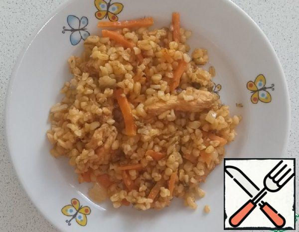 Bulgur with Chicken Recipe