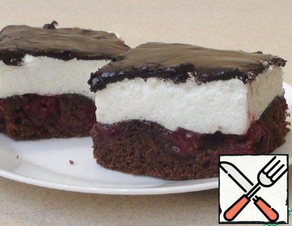 A Chocolate-Cherry Pie Recipe