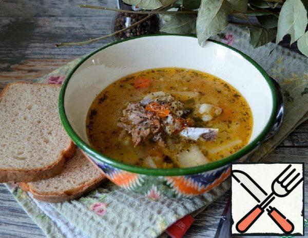 Rice Soup with Lamb and Daikon Recipe