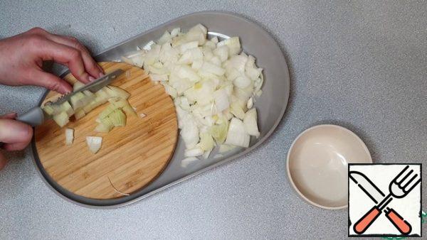 Chop the onion