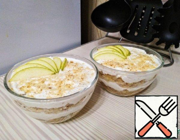 Pear Dessert with Ricotta and Nuts Recipe