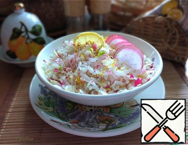 Warm Salad with Radish and Lemon Recipe