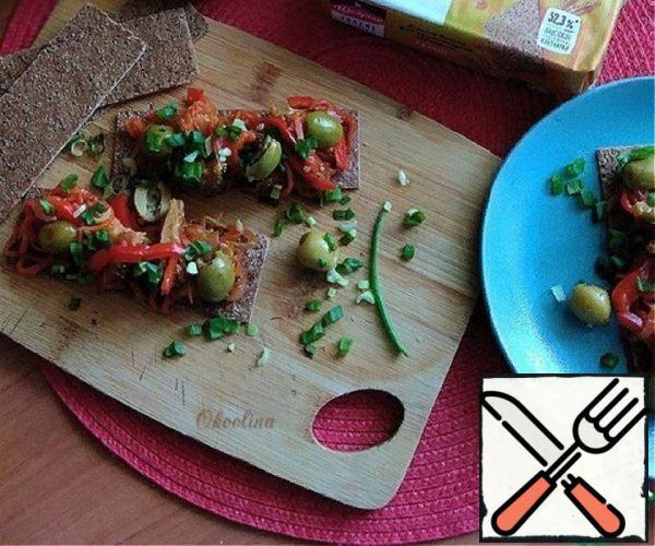 Almost Vegetable Bruschetta Recipe