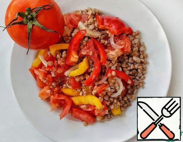 Buckwheat and Vegetable Salad Recipe