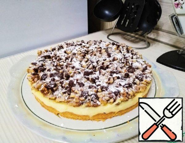 Vanilla Cake with Nuts Recipe