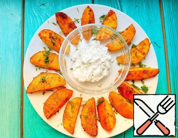 Beautiful and Delicious Potato Slices Recipe