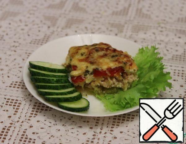 Casserole with Zucchini and Chicken Recipe