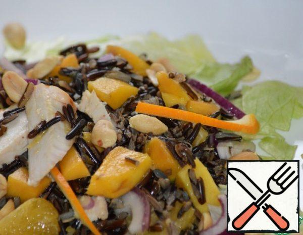 Wild Rice Salad with Chicken Breast Recipe
