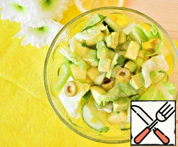 Green Salad with Lemon Dressing Recipe