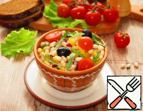 White Bean and Vegetable Salad Recipe