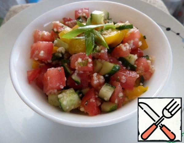 Salad with Couscous Recipe