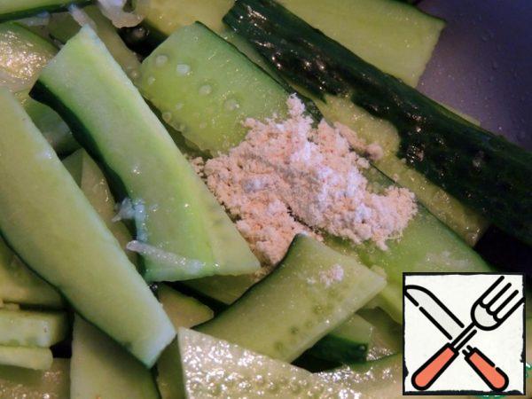Wasabi. Mix it up.