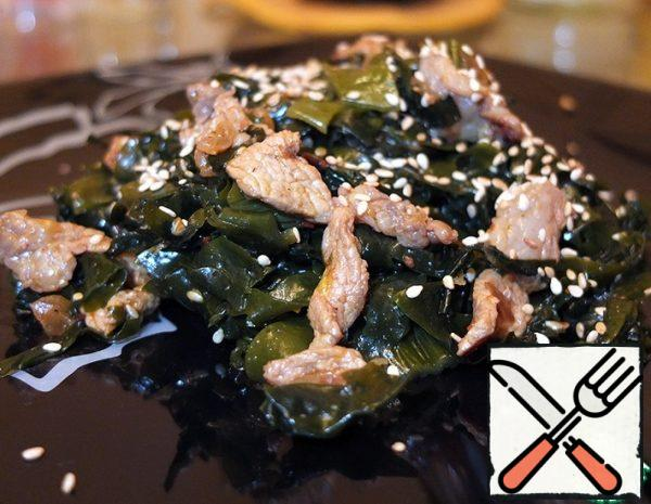 Seaweed Salad with Meat Recipe