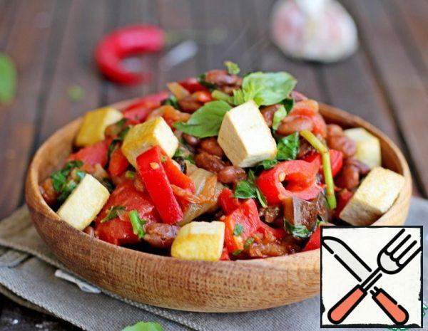 Stew with Beans, Vegetables and Tofu Recipe