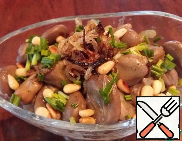 Warm Big Bean Salad Recipe