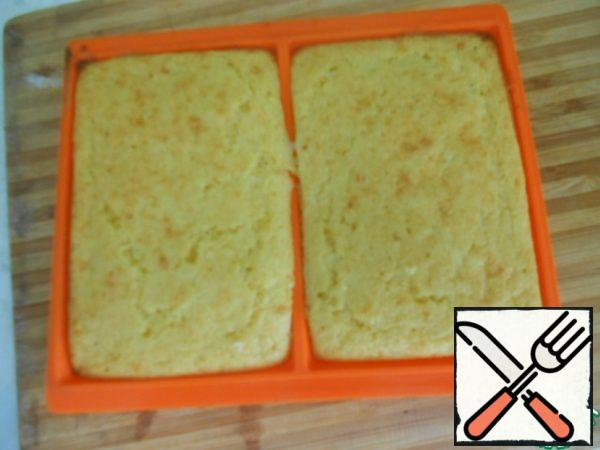 Bake at a temperature of 170-180 degrees for 20-25 minutes.