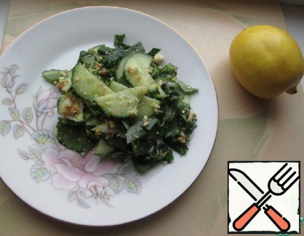 Cucumber and Peanut Salad Recipe