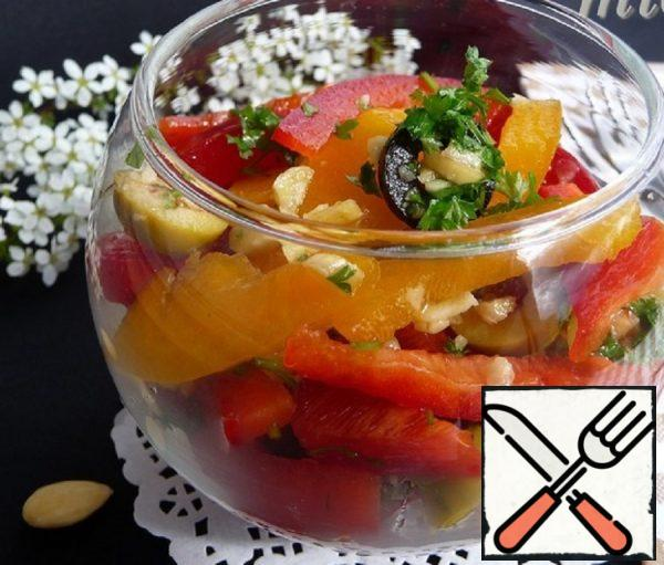 Sweet Pepper Salad Recipe