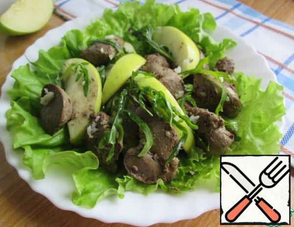 Warm Salad with Chicken Liver Recipe
