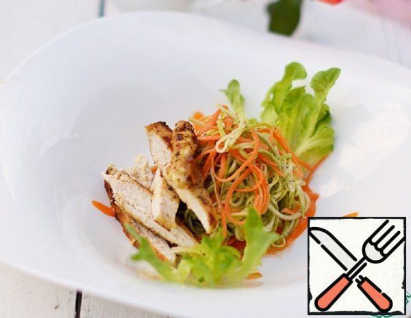 Salad with Chicken and Zucchini Recipe