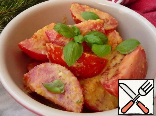 Quick Tomato Snack Recipe