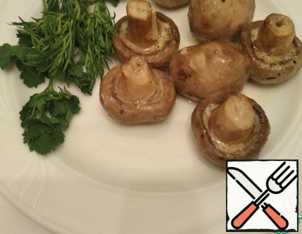 Cream Mushrooms in the Oven whole Recipe
