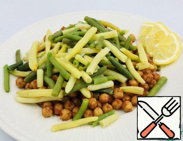 Chickpea and Green Bean Salad Recipe