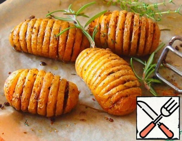 Baked Potatoes with Rosemary Recipe