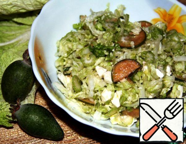 Salad with Feijoa and Celery Recipe